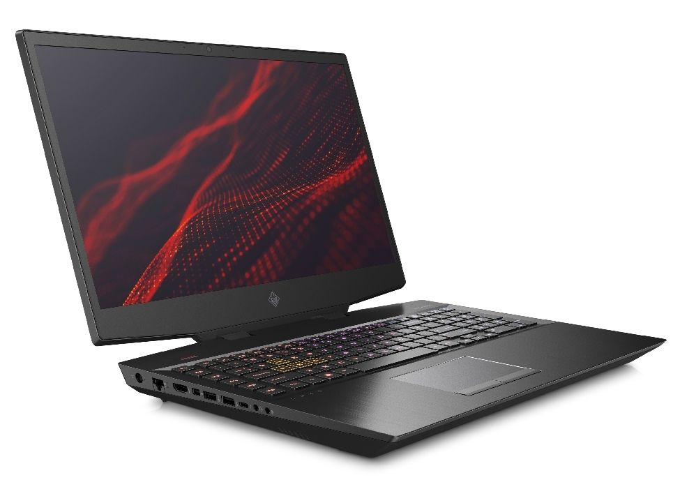Гейминг лаптоп HP Omen - 17-cb0004nu, черен - 3