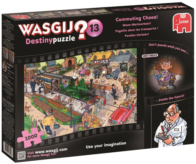 Пъзел Jumbo Wasgij от 1000 части - Комуникационен хаос - 1