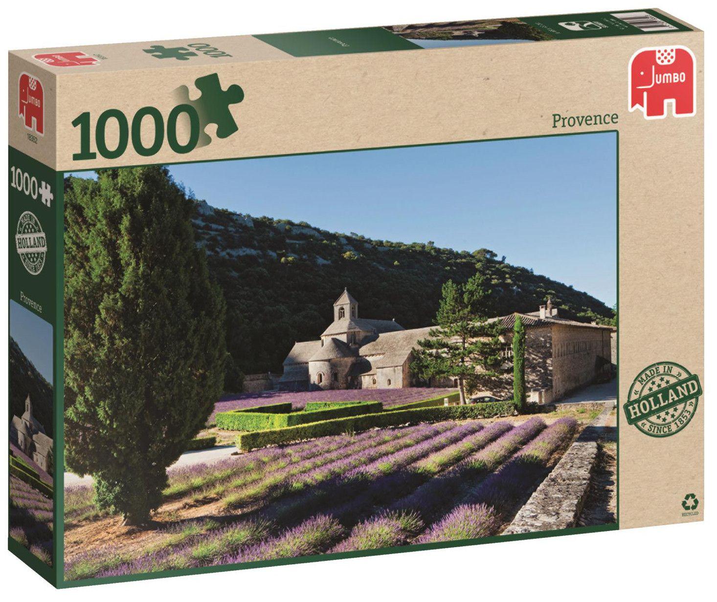 Пъзел Jumbo от 1000 части - Прованс - 1