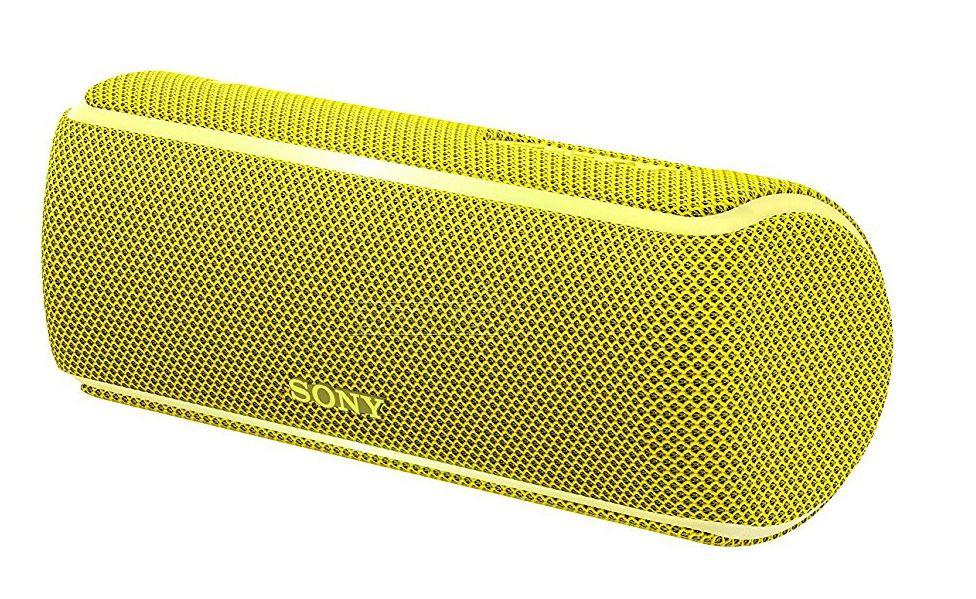 Мини колонка Sony SRS-XB21 - жълта - 2