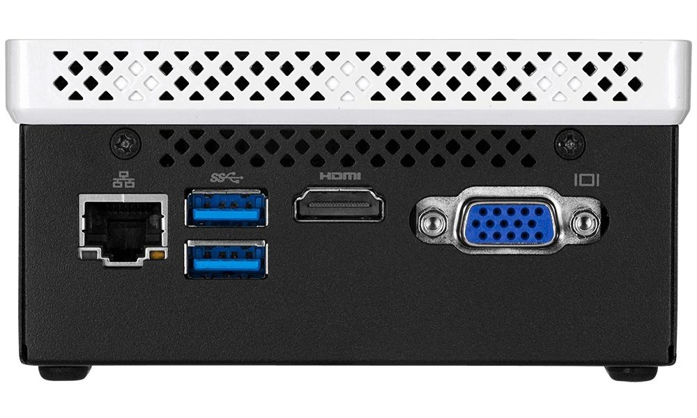 Настолен компютър Gigabyte BRIX - BLCE-4105C, черен - 4