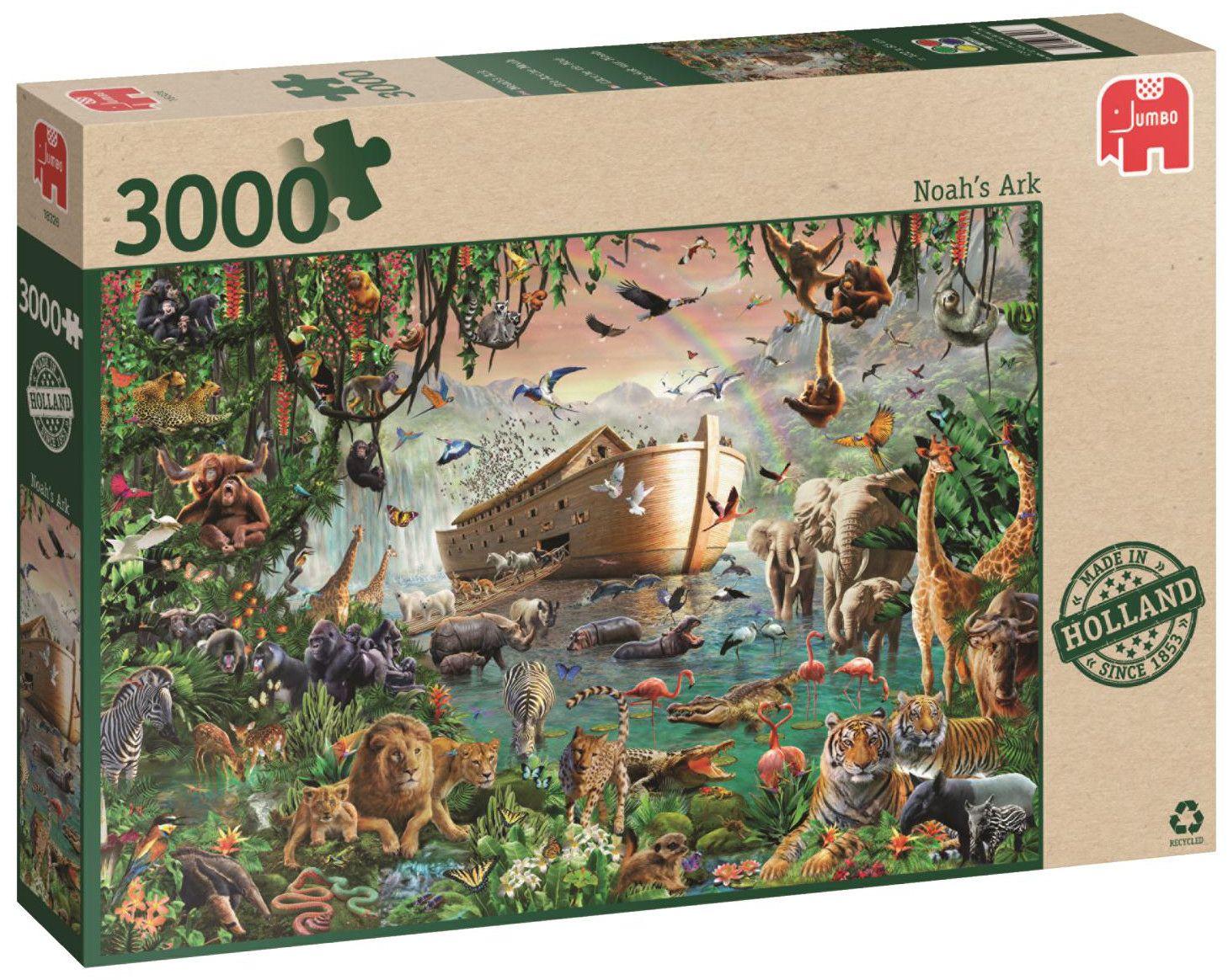 Пъзел Jumbo от 3000 части - Ноевият ковчег - 1