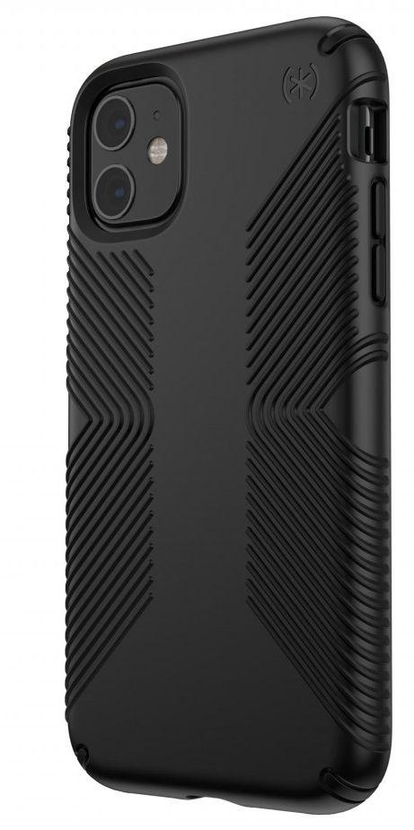 Калъф Speck - Presidio Grip, за iPhone 11, черен - 2