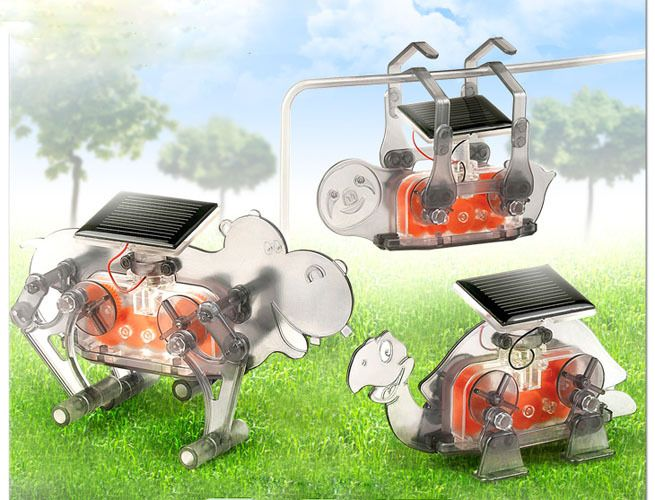 Роботи Academy Solar Robot Animal Set - 1