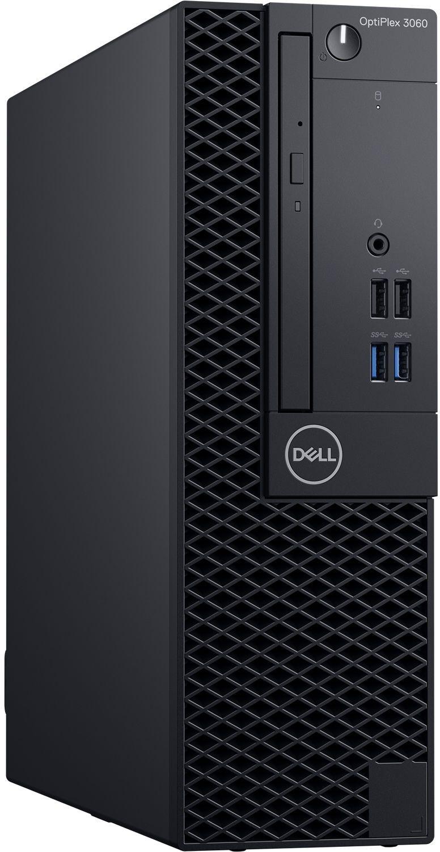 Настолен компютър Dell OptiPlex - 3060SFF, черен - 2