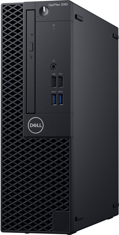 Настолен компютър Dell OptiPlex - 3060SFF, черен - 3