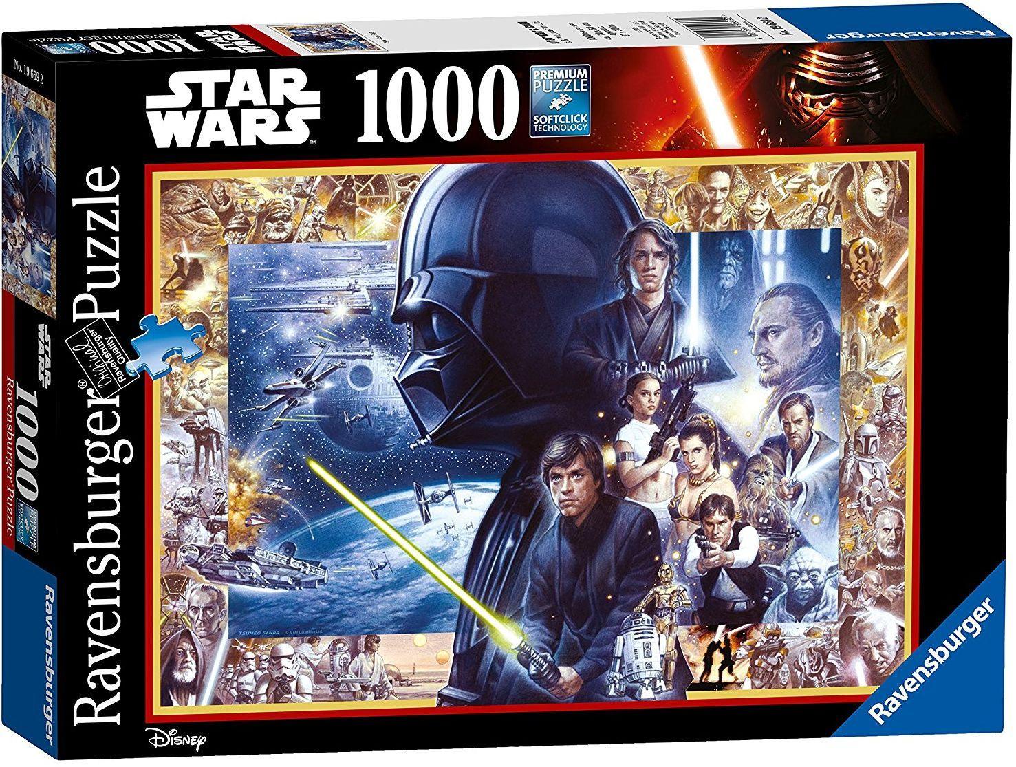Пъзел Ravensburger от 1000 части - Междузвездни войни - 1