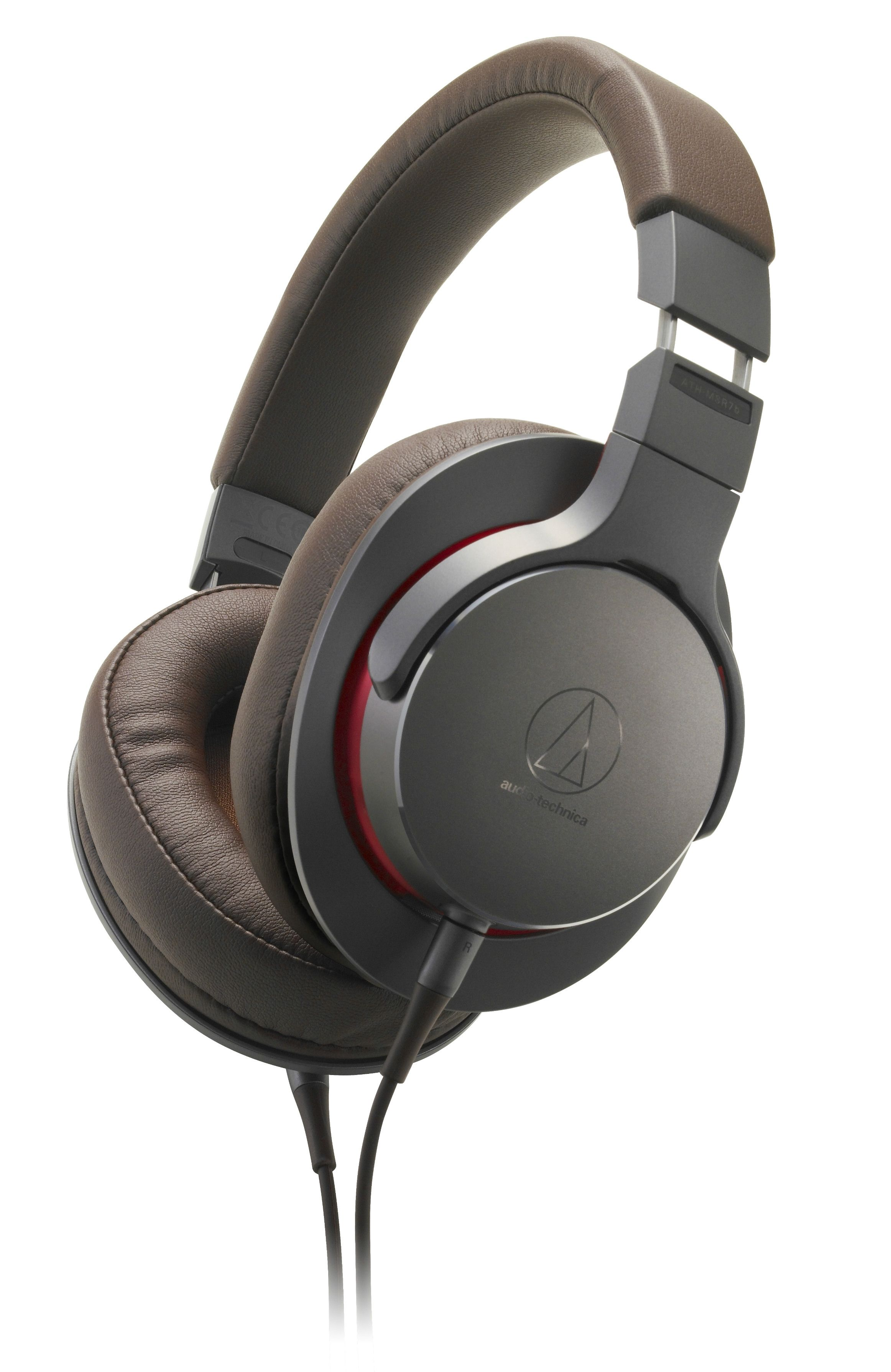 Слушалки Audio-Technica - ATH-MSR7b, hi-fi, gunmetal - 1