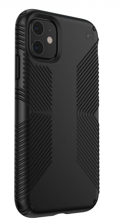 Калъф Speck - Presidio Grip, за iPhone 11, черен - 3
