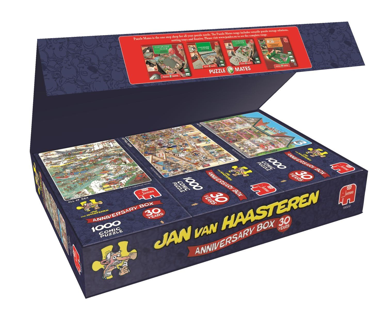 Пъзели Jumbo 3 х 1000 части - Комплект по случай 30-годишнината, Ян ван Хаастерен - 3