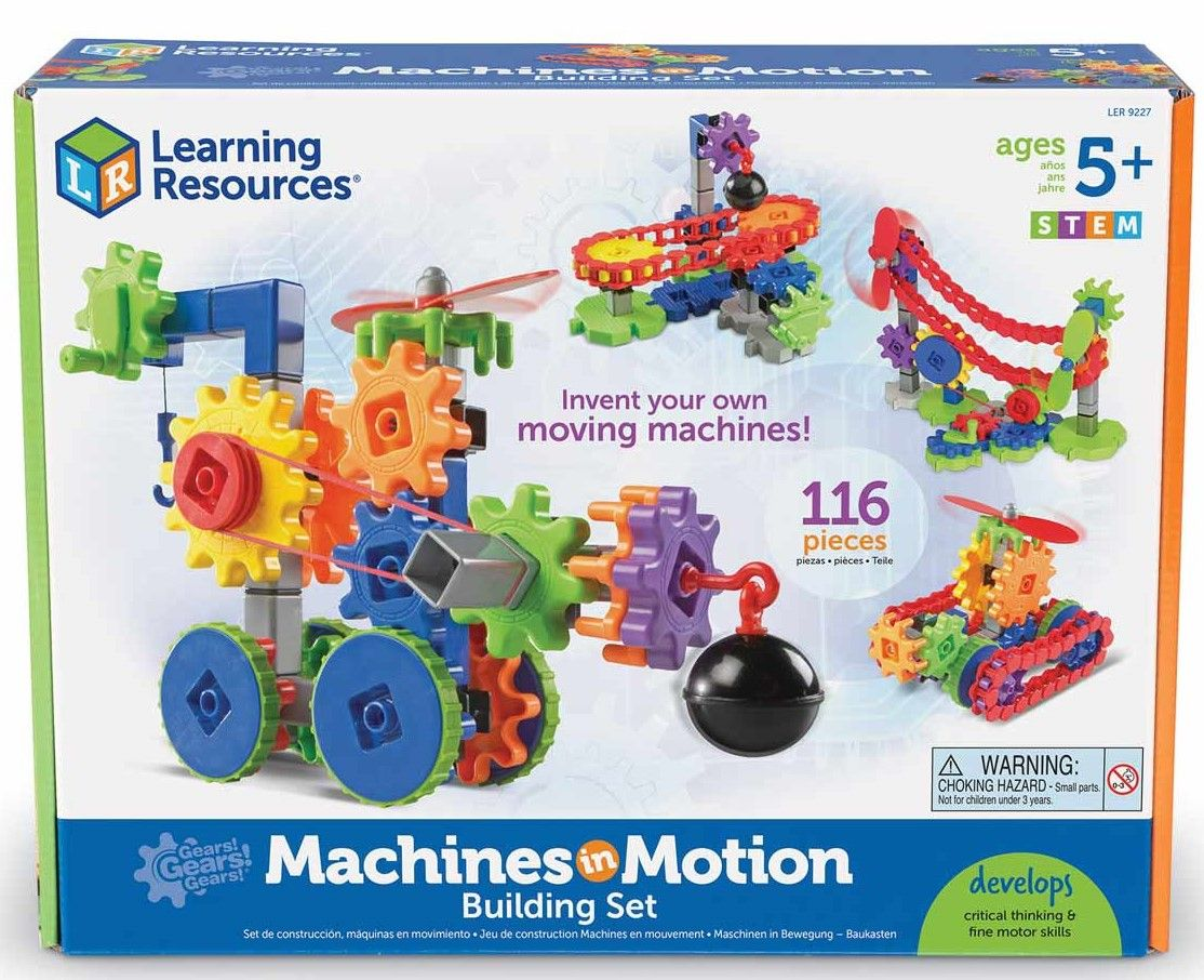 Детски конструктор Learning Resources - Машини в действие - 1
