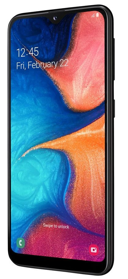 "Смартфон Samsung Galaxy A20e - 5.8"", 32GB, черен - 2"