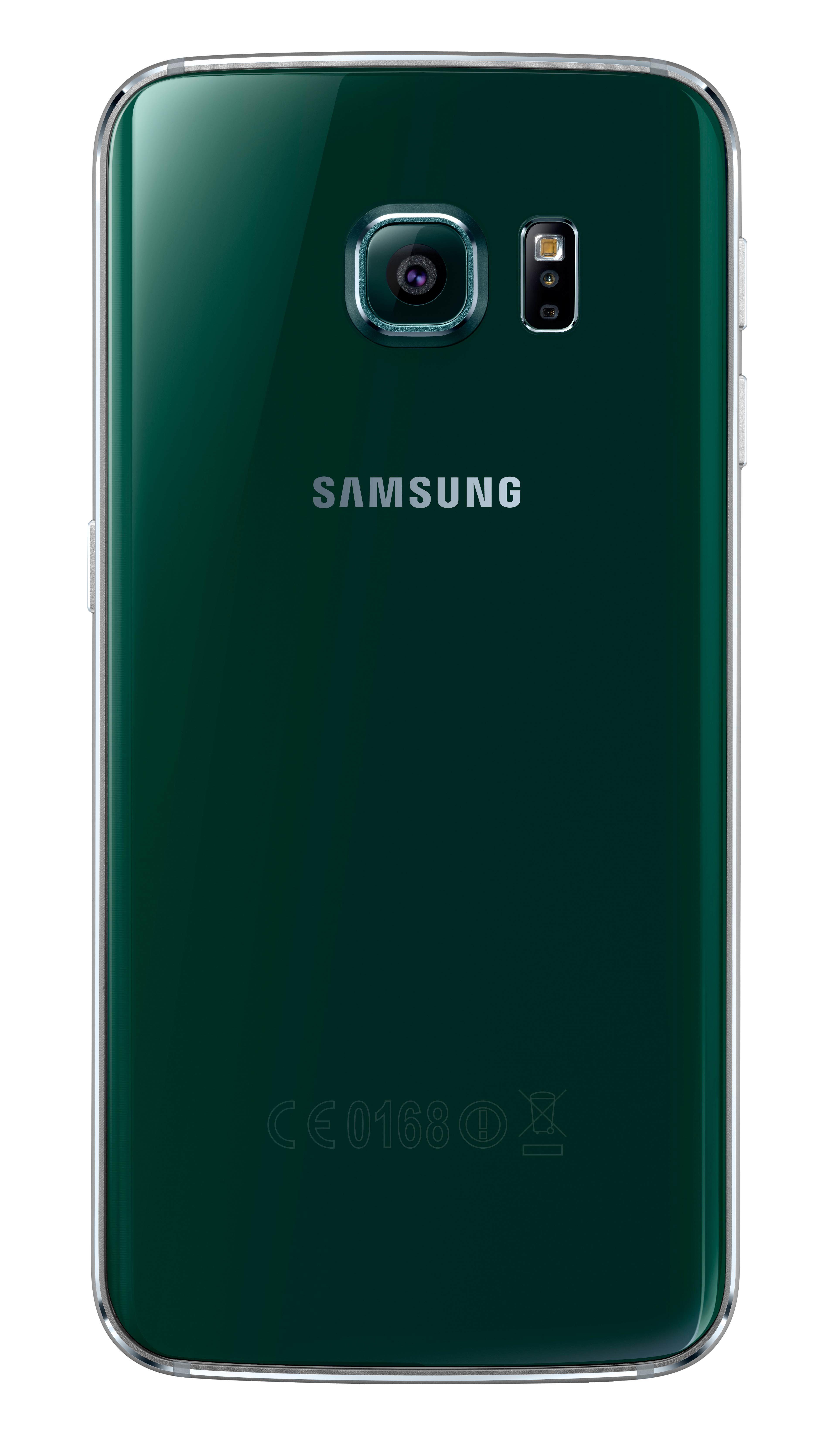 Samsung SM-G925 Galaxy S6 Edge 32GB - зелен - 2