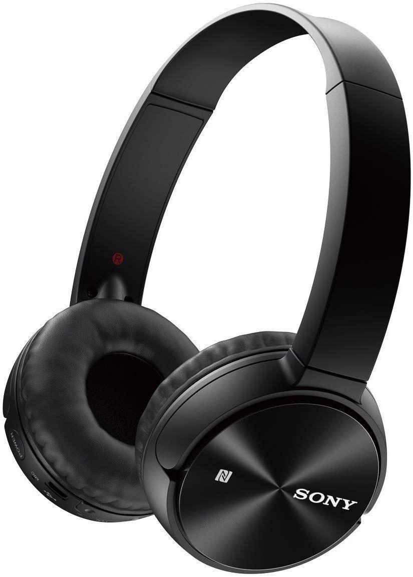 Слушалки Sony MDR-ZX330BT - черни - 1