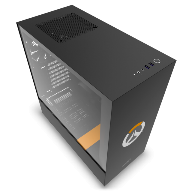 Кутия NZXT - H500 Overwatch Special Edition, Mid-Tower, черна - 5