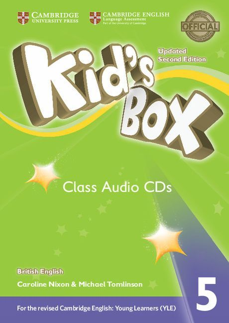 Kid's Box Updated 2ed. 5 Audio CD (3) - 1