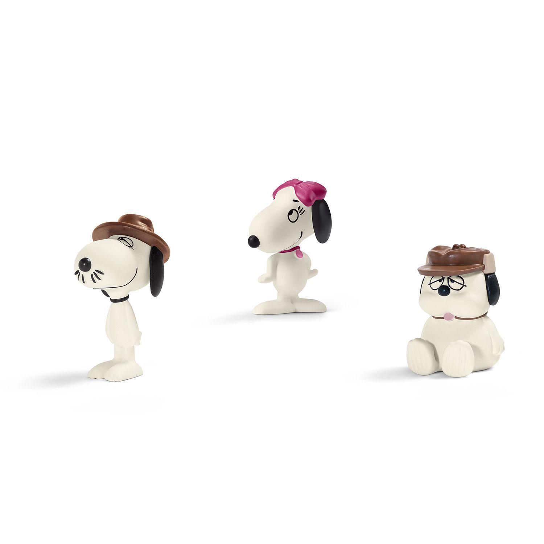 """Фигурка Schleich от серията """"Peanuts"""": Комплект Фъстъчета - семейството на Снупи - 1"""