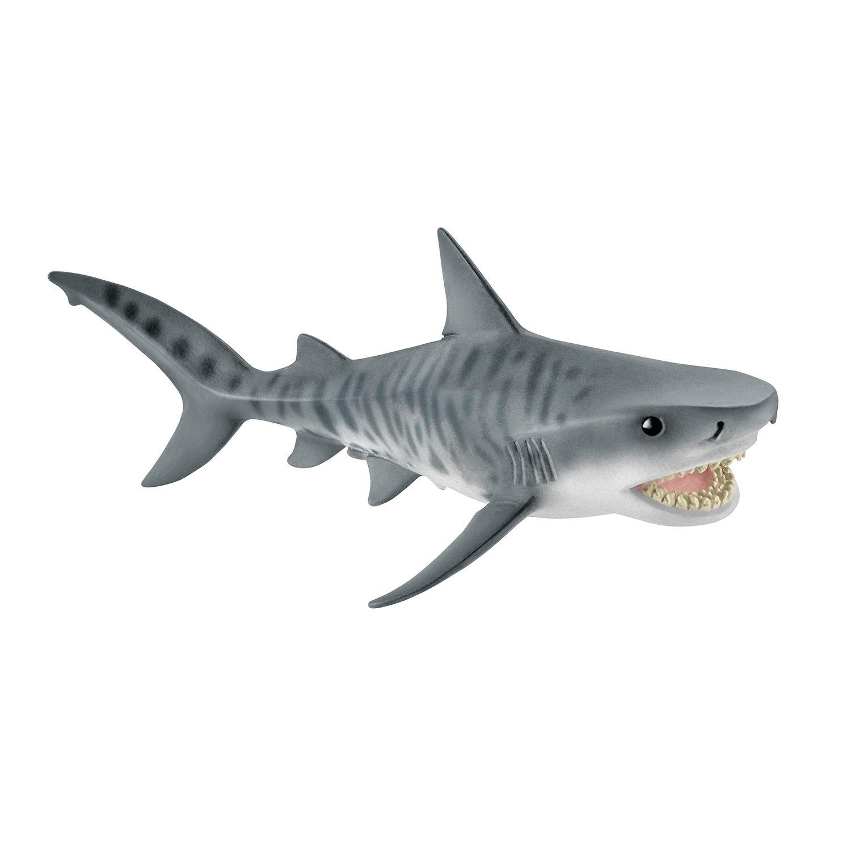 Фигурка Schleich от серията Дивия живот - Океан: Тигрова акула - 1
