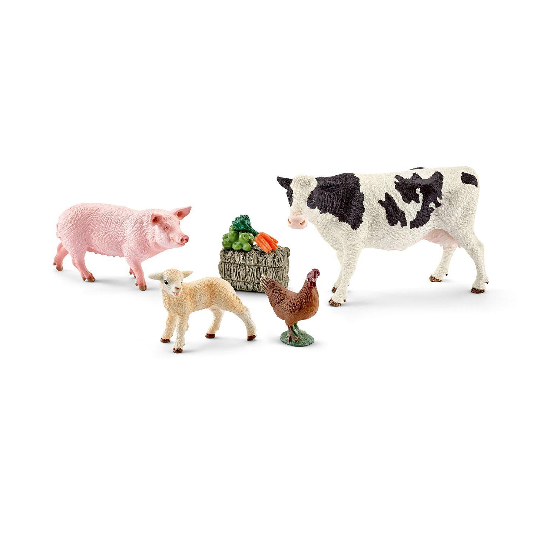 Фигурка Schleich от серията Аксесоари към Животни във фермата: Комплект - моите първи животни от фермата - 1