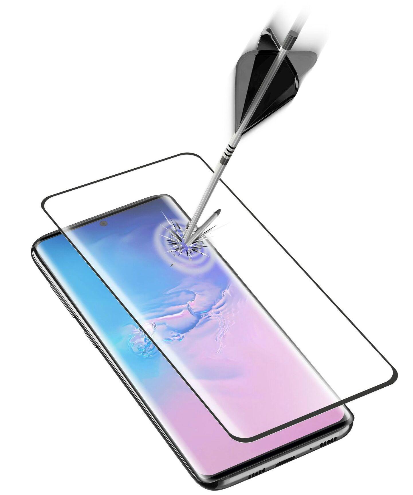 Закалено 3D стъкло Cellularline - за Samsung Galaxy S20 Ultra, черно - 1