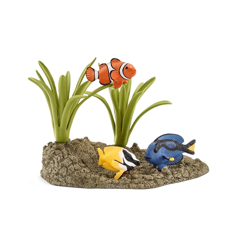 Фигурки Schleich от серията Аксесоари към Диви Животни: Коралови рибки - 1
