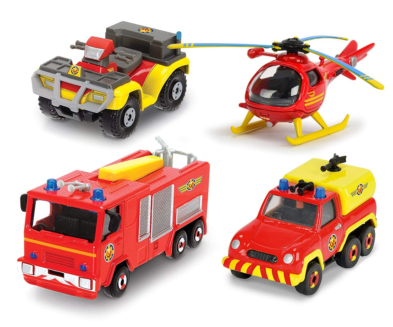 Игрален комплект Dickie Toys - Пожарникарят Сам (асортимент) - 2