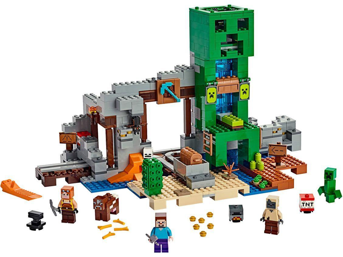 Конструктор Lego Minecraft - Мина Creeper (21155) - 2