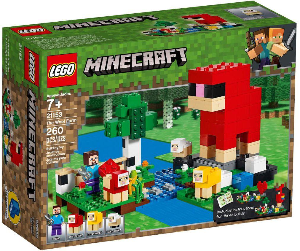 Конструктор Lego Minecraft - Фермата за вълна (21153) - 1