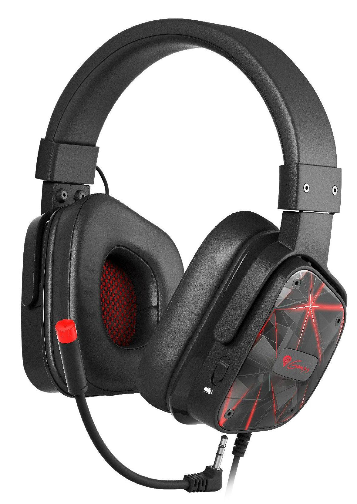 Гейминг слушалки с микрофон Genesis - Argon 570, черни - 1