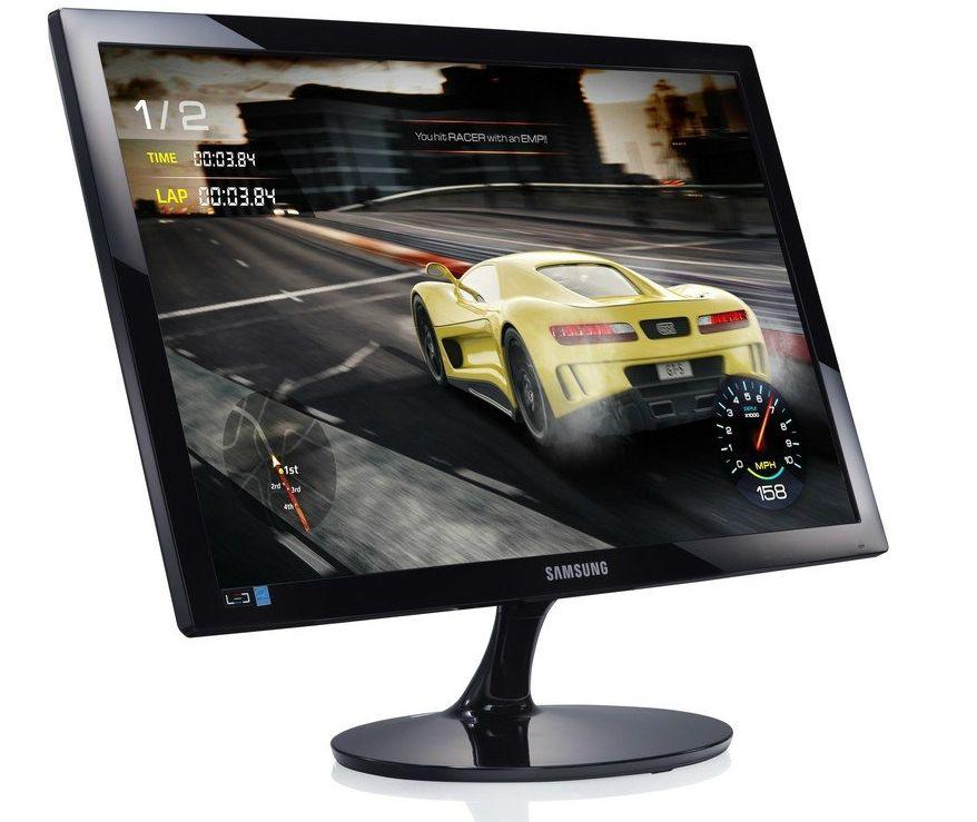 """Samsung S24D330HSX, 24"""" TN LED, GAMING, 1ms, 1920x1080, HDMI, D-SUB, 250cd/m2, Mega DCR, 178°/178°, Black High glossy - 2"""