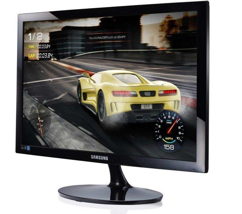 """Samsung S24D330HSX, 24"""" TN LED, GAMING, 1ms, 1920x1080, HDMI, D-SUB, 250cd/m2, Mega DCR, 178°/178°, Black High glossy - 4"""