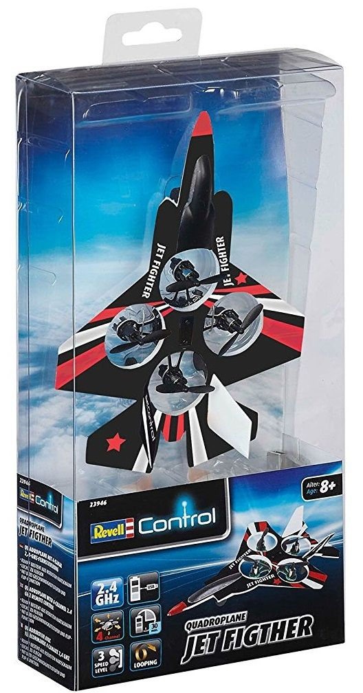 Радиоуправляем реактивен изтребител Revell Control Micro (23946) - 5