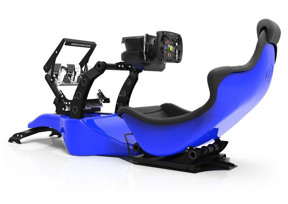 Racing Simulator RSeat RS Formula V2 - черен/син  - 7