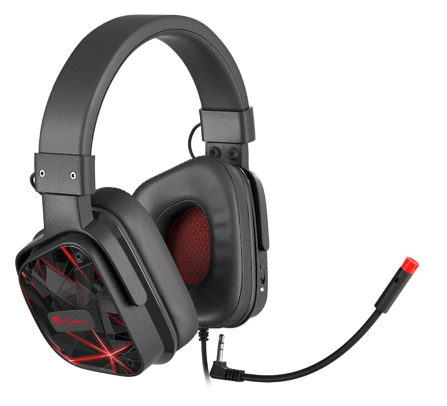 Гейминг слушалки с микрофон Genesis - Argon 570, черни - 3