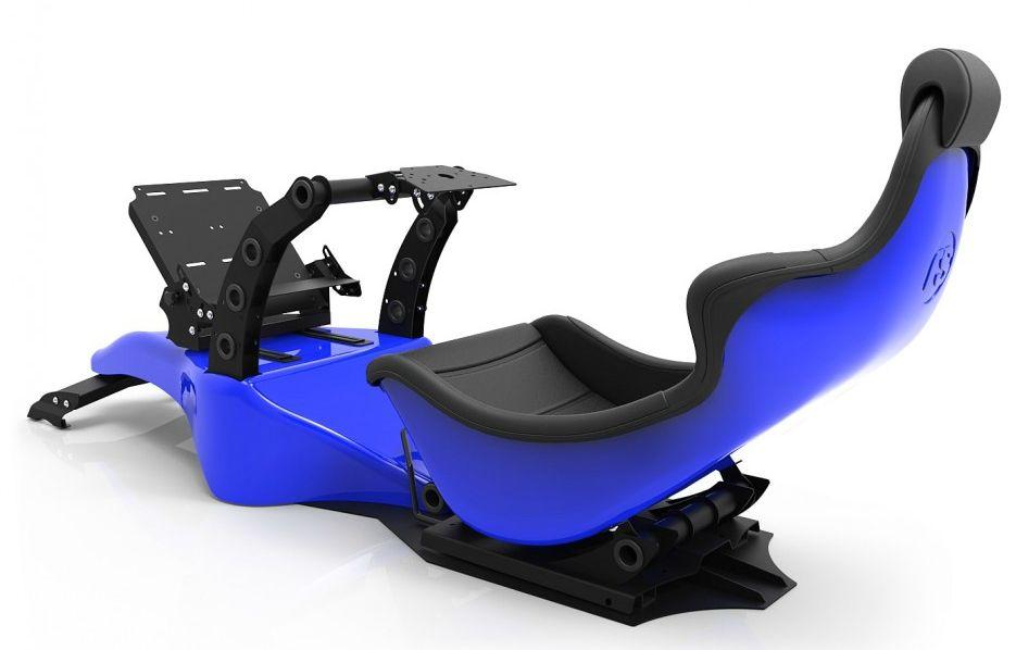 Racing Simulator RSeat RS Formula V2 - черен/син  - 2