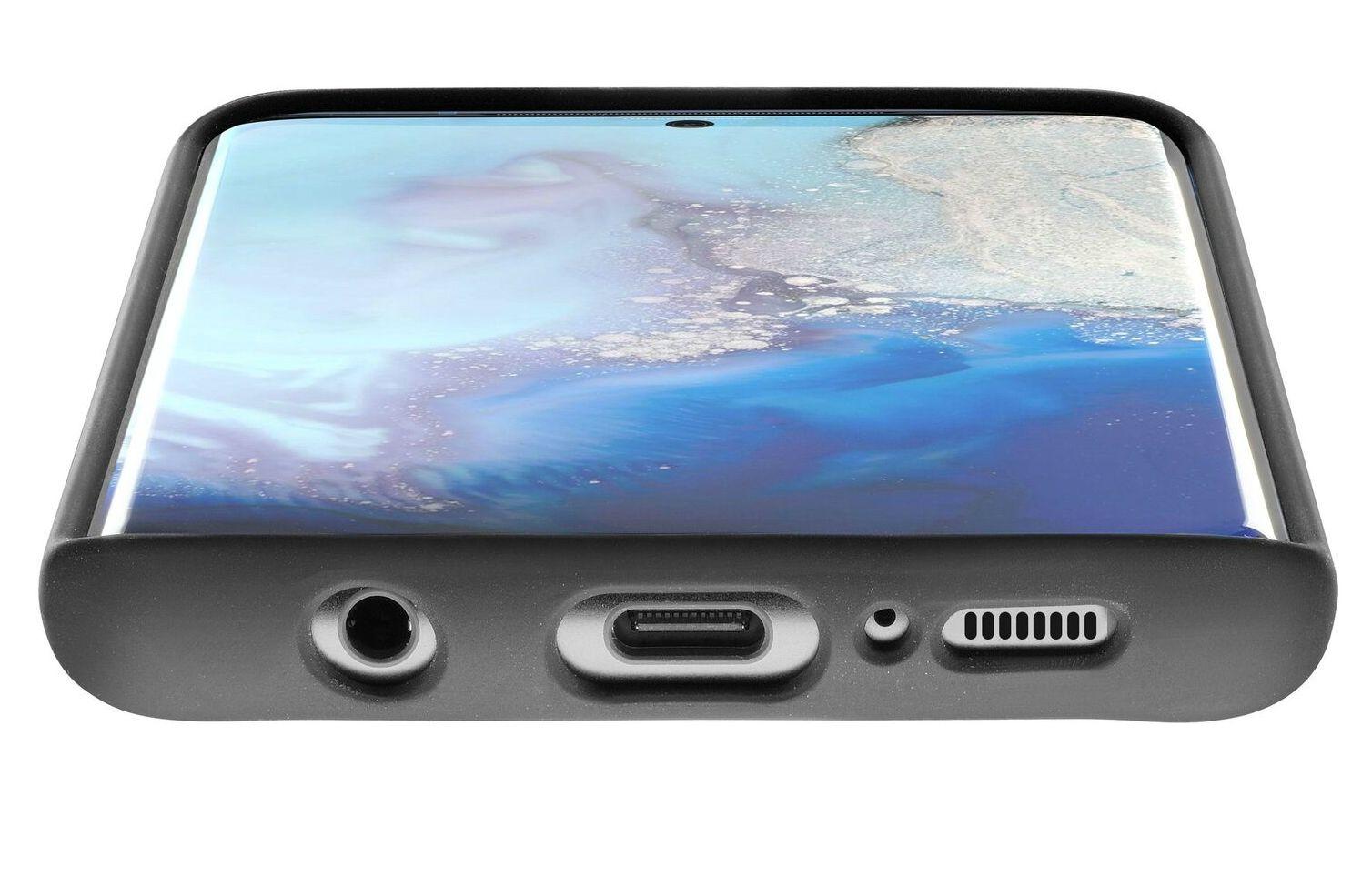 Калъф Cellularline - Sensation, за Samsung Galaxy S20, черен - 2