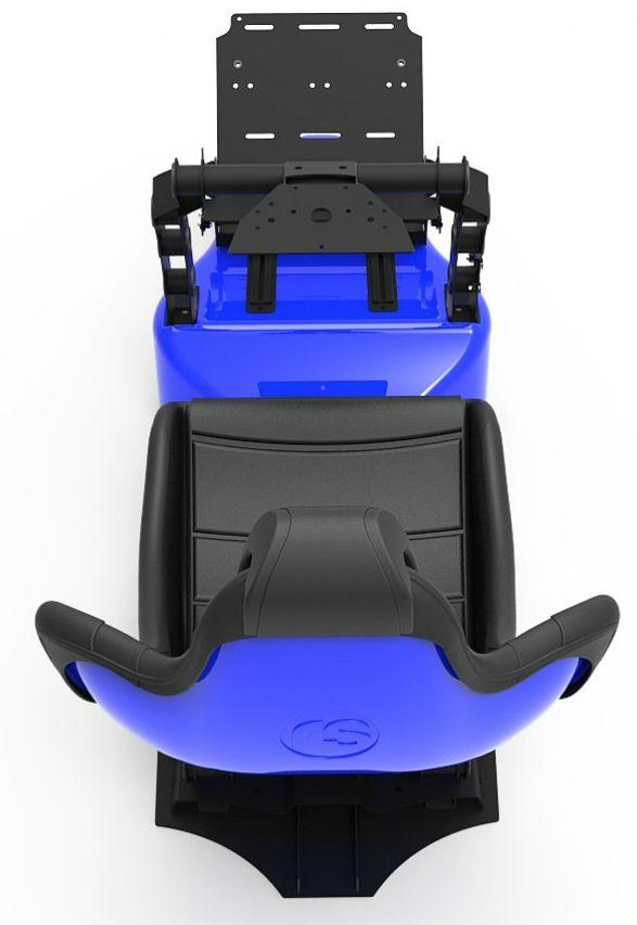 Racing Simulator RSeat RS Formula V2 - черен/син  - 5