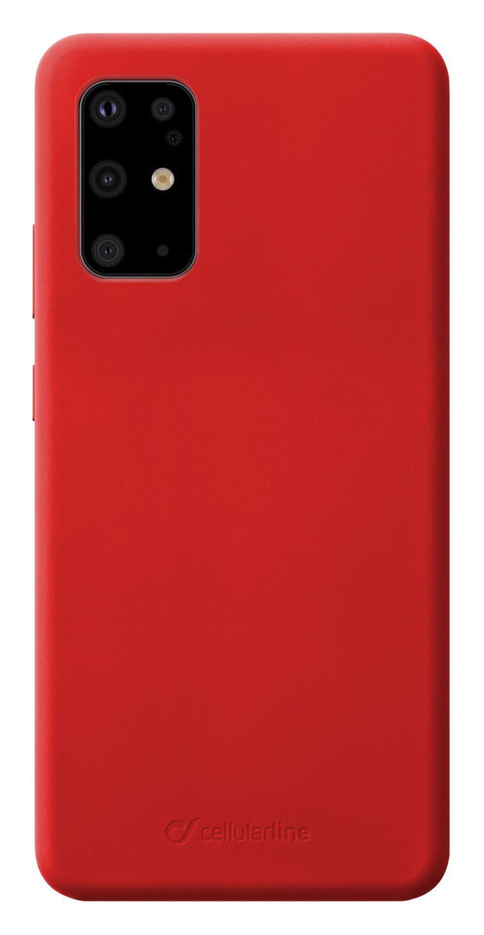 Калъф Cellularline - Sensation, за Samsung Galaxy S20+, червен - 1