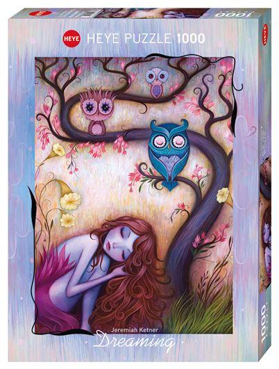 Пъзел Heye от 1000 части - Дървото на желанията, Джеремая Кетнер - 1