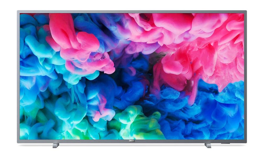 "Смарт телевизор Philips - 65PUS6523/12, 65"", 4K UHD LED, сребрист - 1"