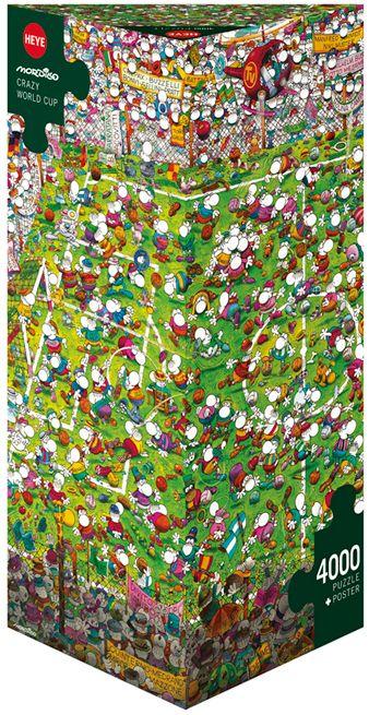 Пъзел Heye от 4000 части - Щурата световна купа, Мордильо - 1