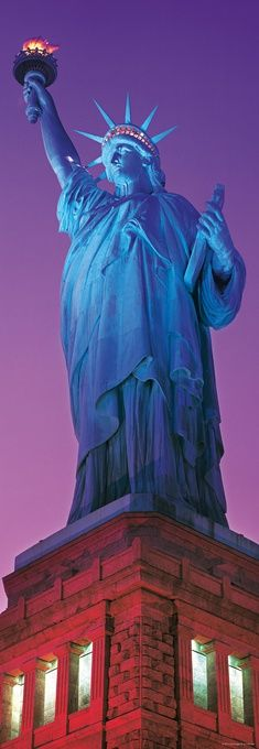 Пъзел Heye от 1000 части - Статуята на Свободата - 2