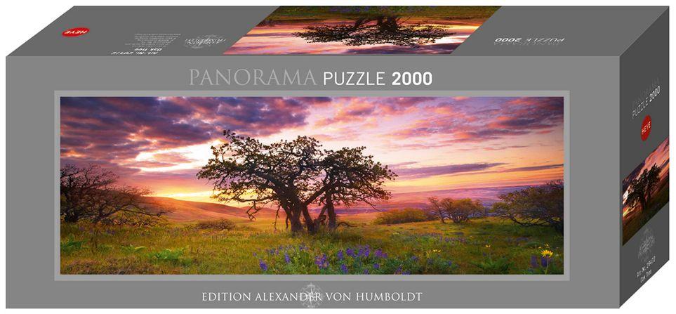 Пъзел Heye от 2000 части - Дъбово дърво, Александър фон Хумболт - 1