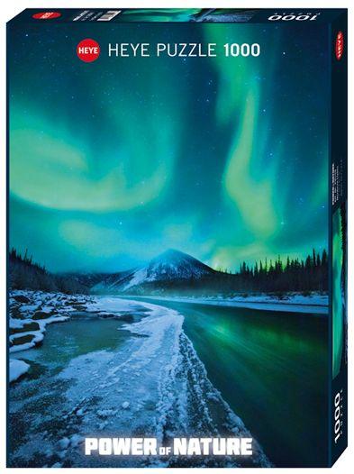 Пъзел Heye от 1000 части - Северно сияние, Силата на Природата - 1