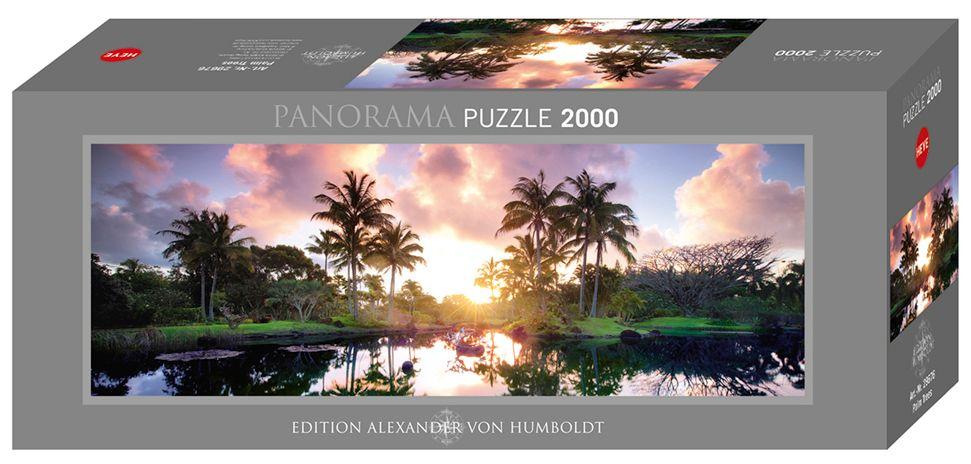 Пъзел Heye от 2000 части - Палми, Александър фон Хумболт - 1