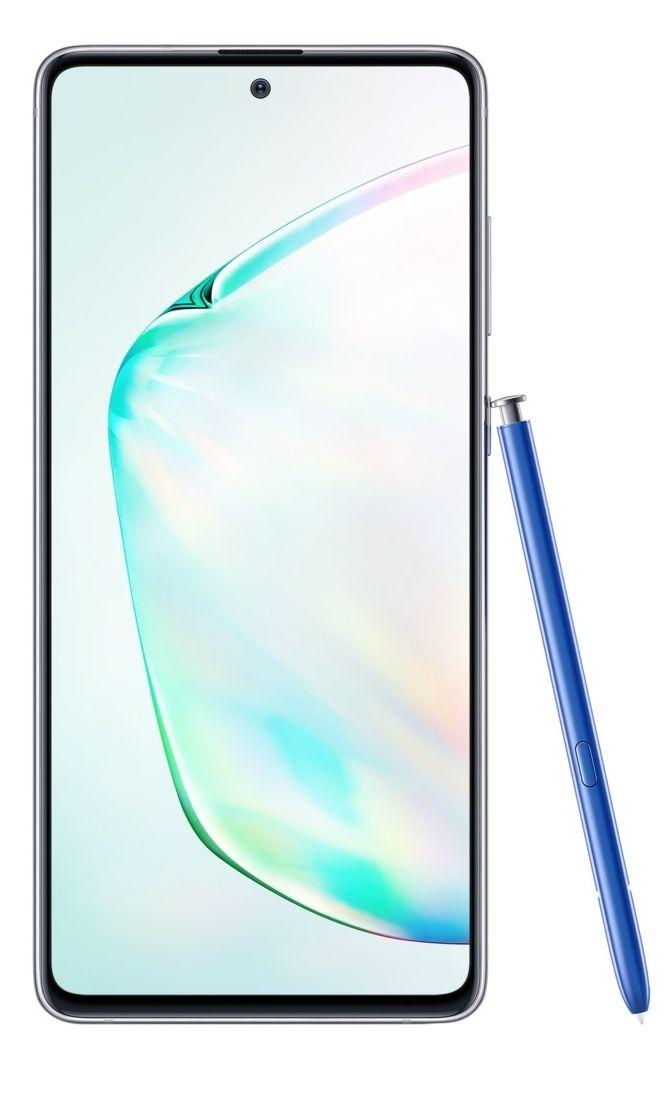 "Смартфон Samsung Galaxy Note 10 Lite - 6.7"", 128GB, aura glow - 1"