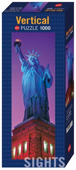 Пъзел Heye от 1000 части - Статуята на Свободата - 1