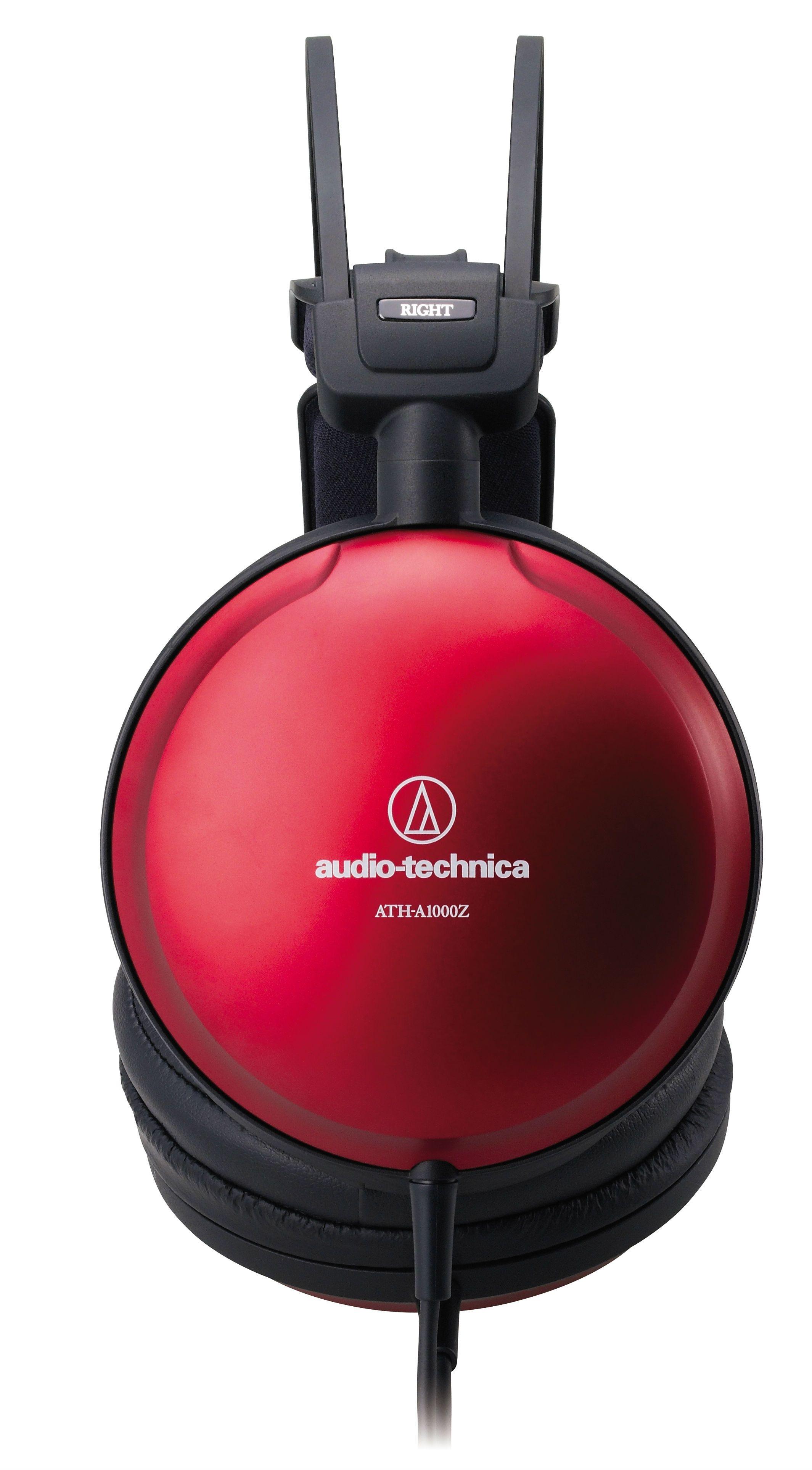Слушалки Audio-Technica - ATH-A1000Z Art Monitor, hi-fi, червени - 2