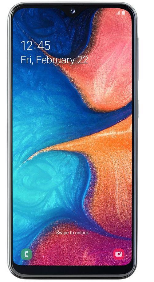 "Смартфон Samsung Galaxy A20e - 5.8"", 32GB, черен - 1"
