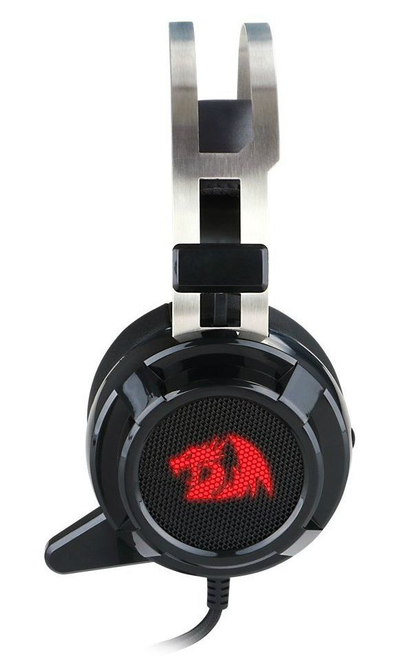 Гейминг слушалки Redragon - Siren H301, черни - 2